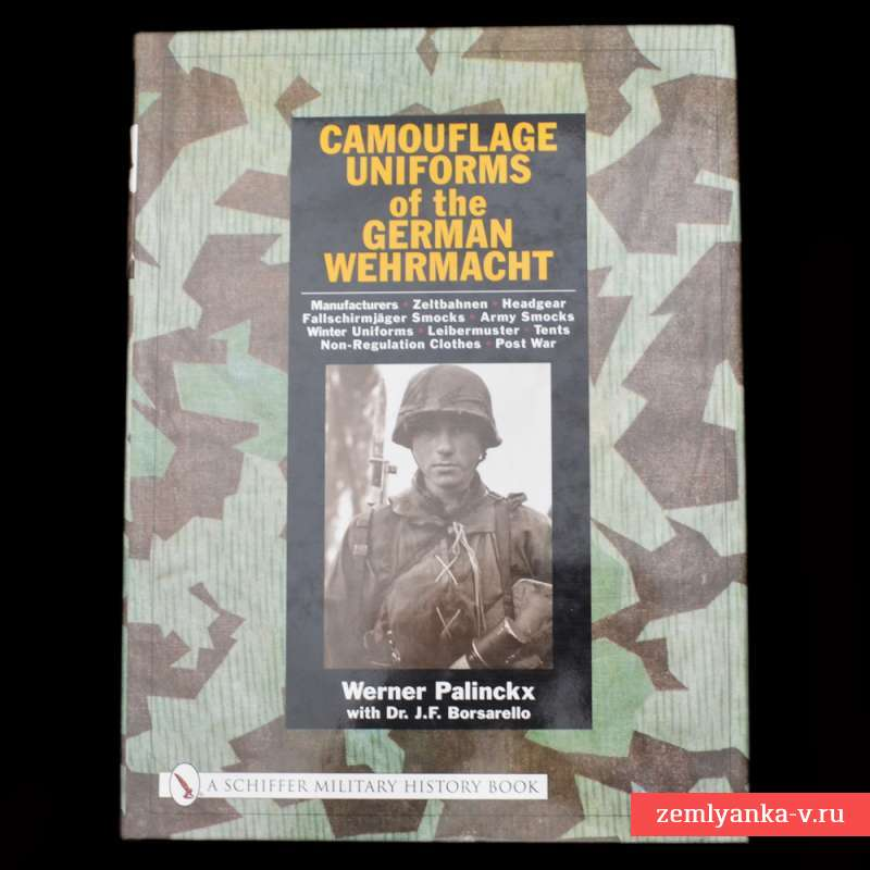 Книга «Camouflage Uniforms of the German Wehrmacht»