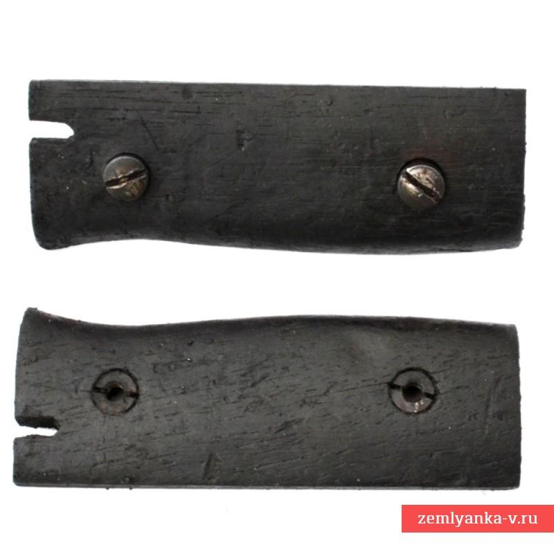 Щечки рукояти от немецкого штыка образца 1884/98 гг
